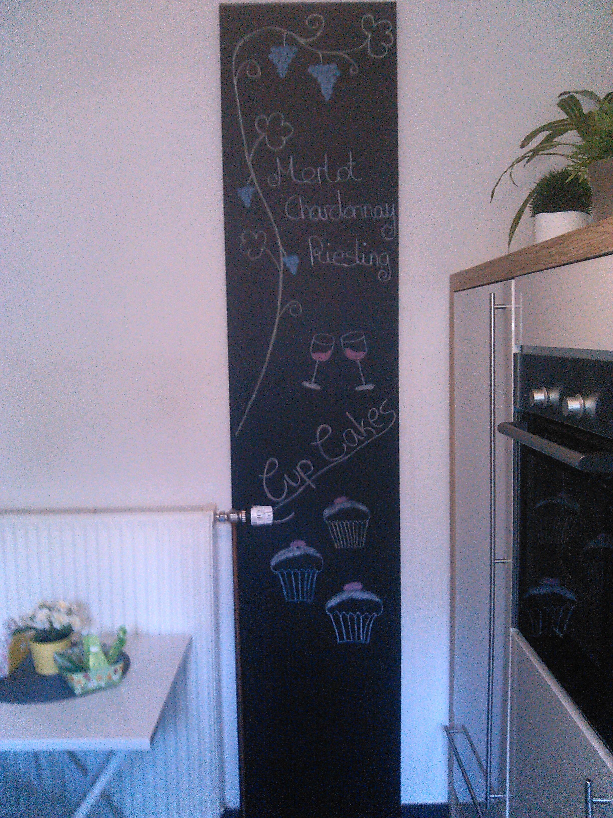 Gestaltungsidee für eine DIY-Tafelwand in der Küche | DIY - Do it ...