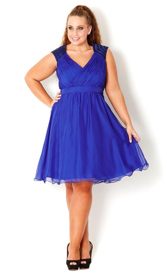 CITY CHIC - GORGEOUS GEMS DRESS - Women\'s plus size fashion ...