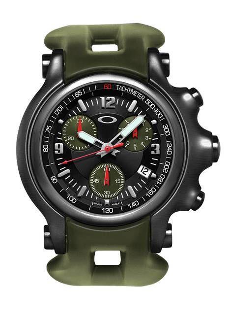 6b8e71d12e4 Oakley 10TH MOUNTAIN DIVISION HOLESHOT® (Stealth Black Black Dial Military  Olive Rubber Strap)