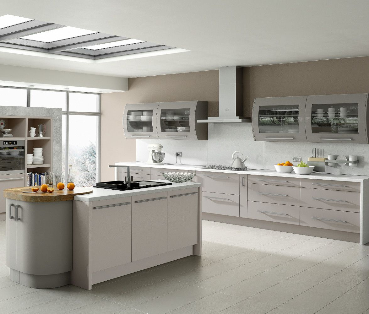 Kitchen Direct Cabinets: Duleek Kashmir & Stone Grey Kitchens Direct NI