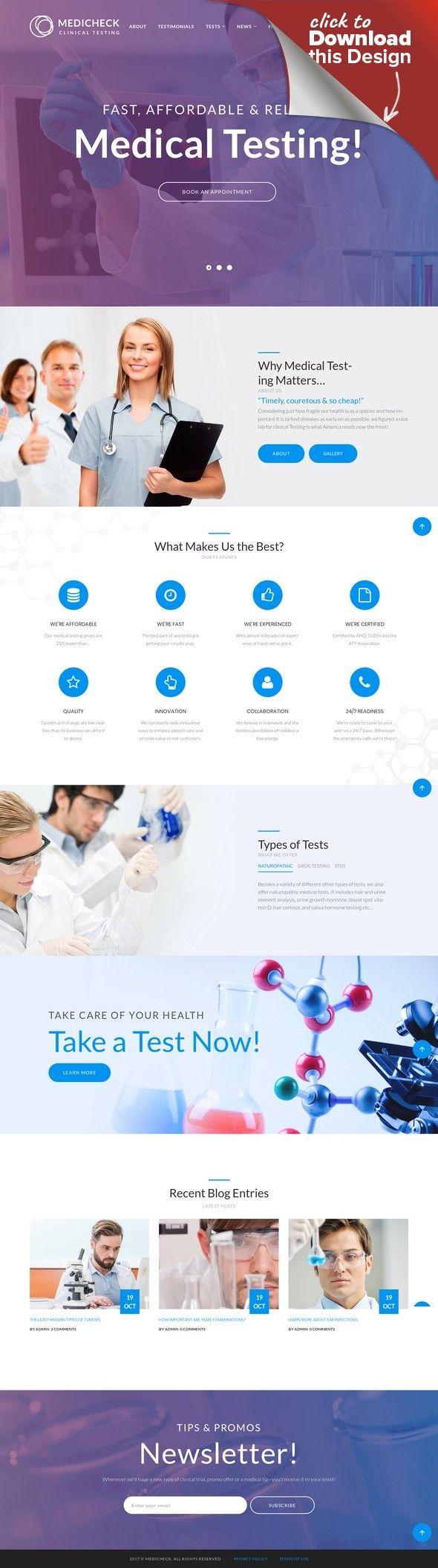 Tema de WordPress para Sitio de Equipos médicos | Tema de wordpress ...