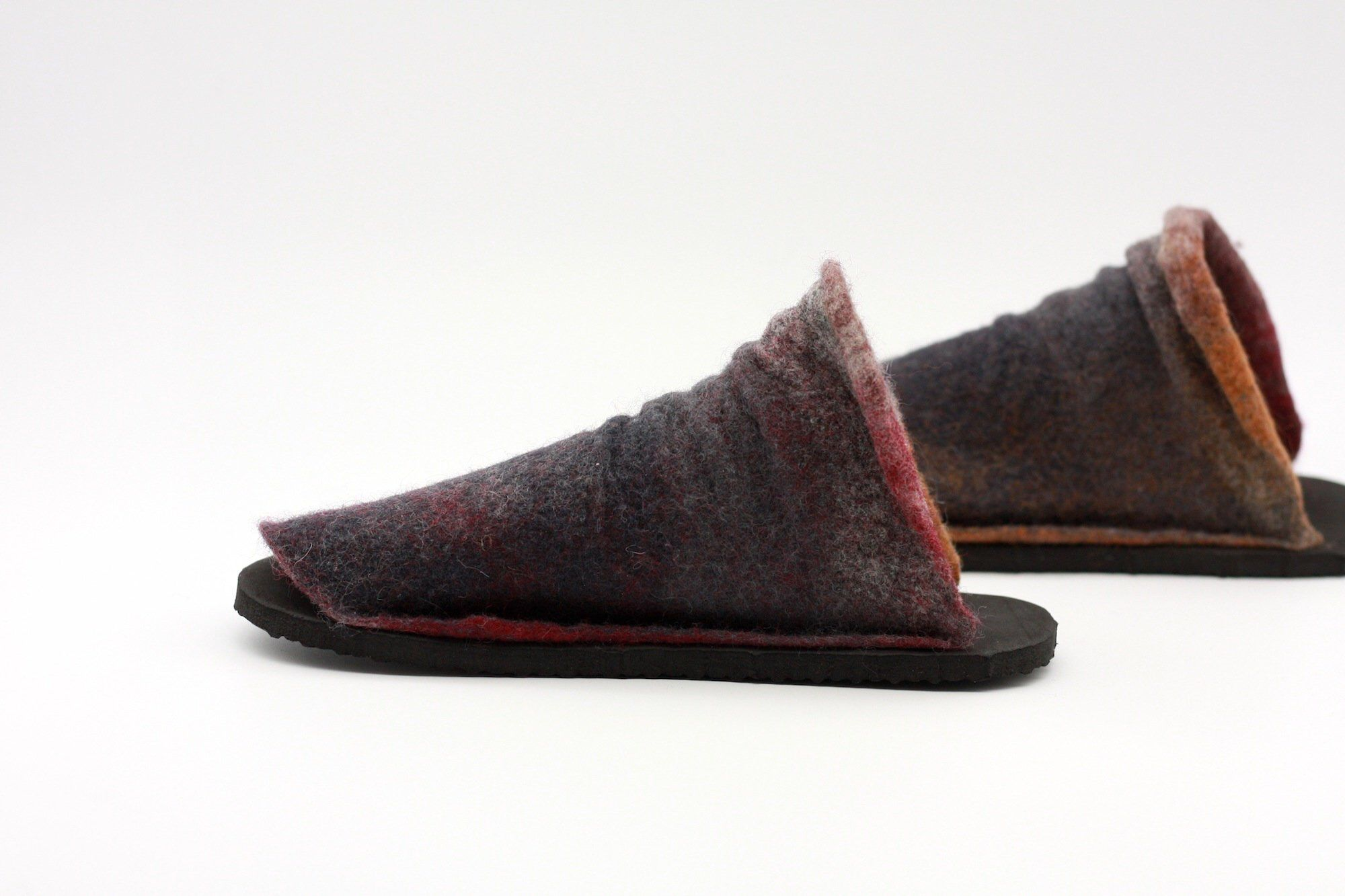 0fa39c2645f69 Pin by lucielalune on = lucielalune footwear = | Sandals, Wool Felt ...