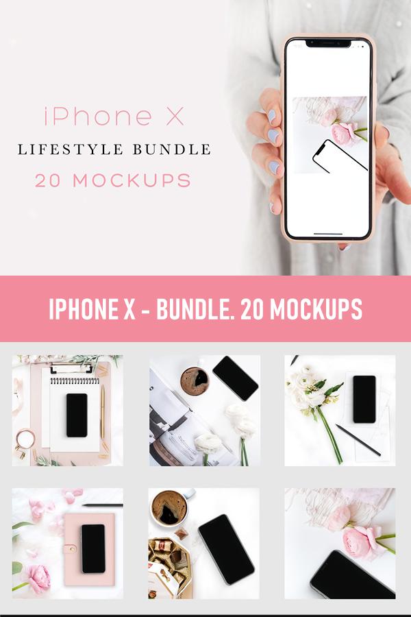 Download Iphone X Bundle 20 Mockups Iphone Mockup Web Mockup Iphone