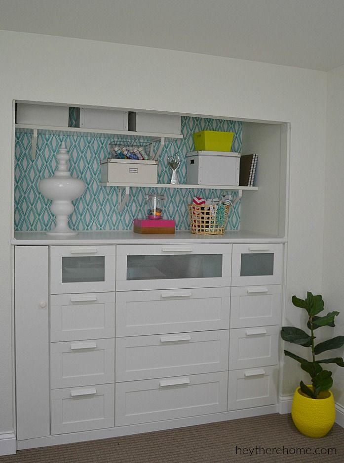 Looking To Spruce Up Your Office Space? Hereu0027s How @heytherehome  Transformed A Standard Closet