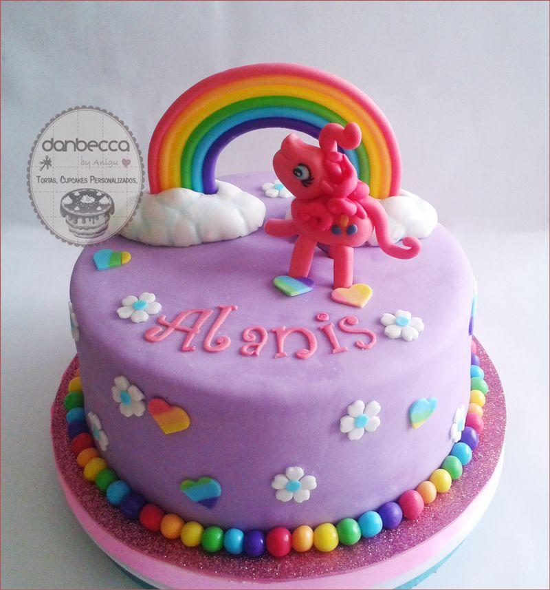 Torta My Little Pony Regenbogen Geburtstagskuchen Pony Kuchen My Little Pony Geburtstag