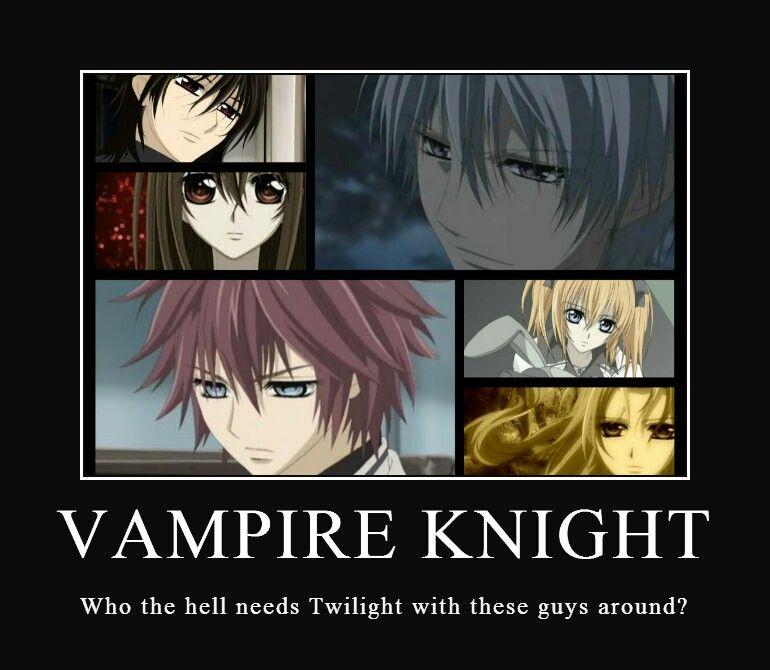 Pin by Yuki Wolf on Funny, but true memes   Vampire knight ...