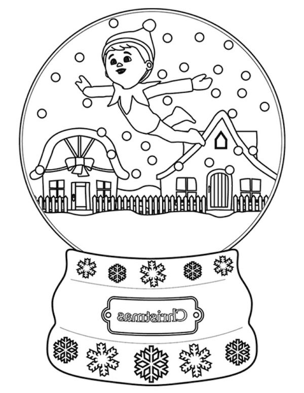 coolest elf of the shelf coloring pages httpcoloringalifiah