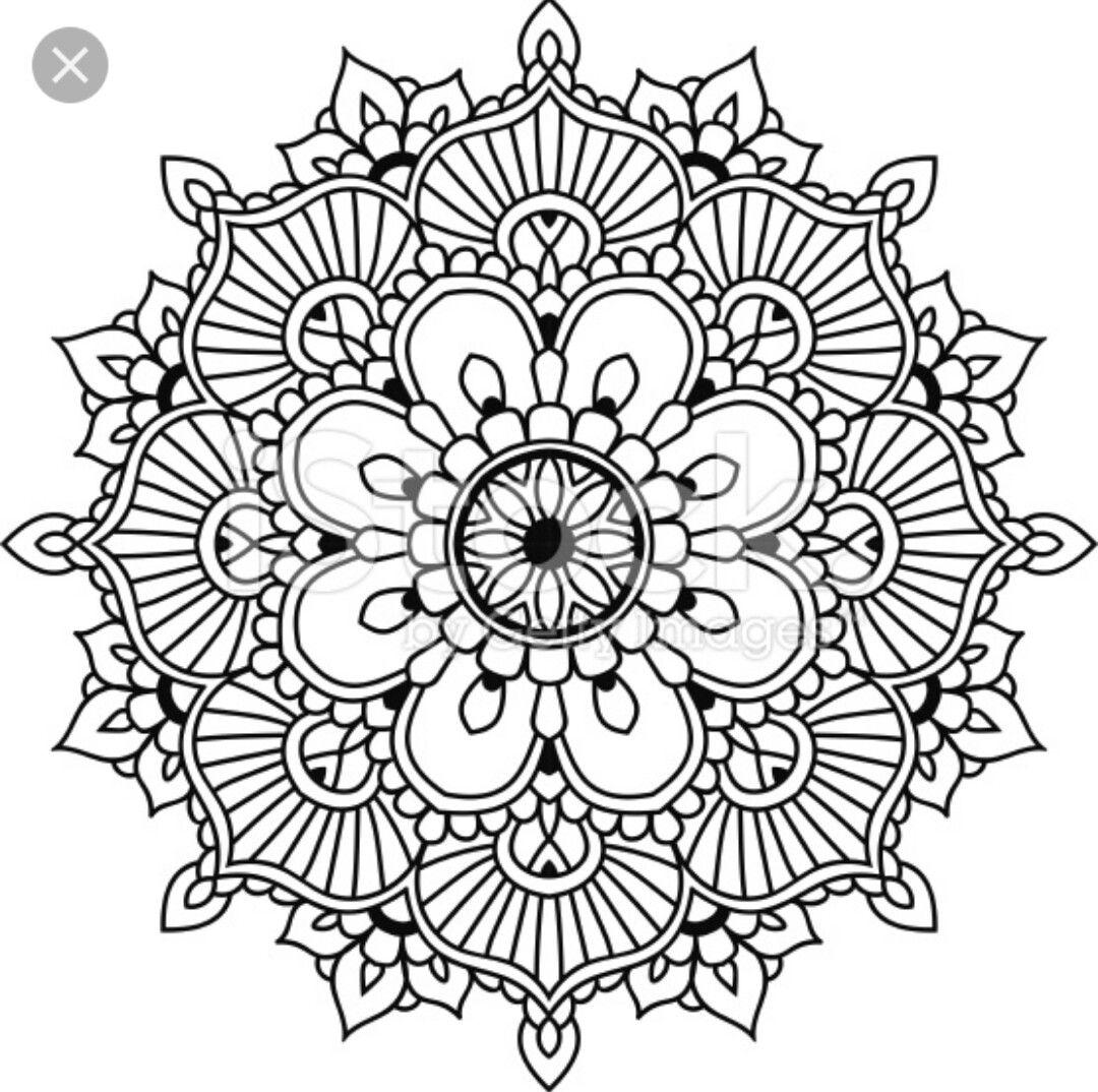 | Mandala coloring pages, Mandala design, Simple mandala