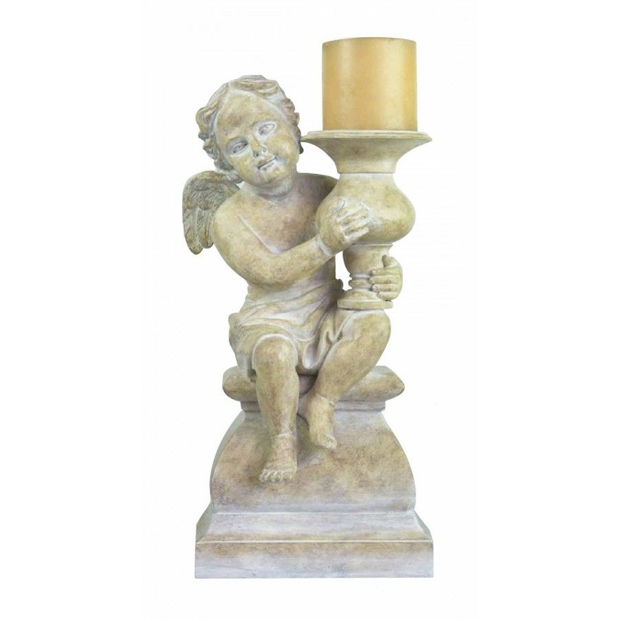 Sterling industries cherub candle holder home