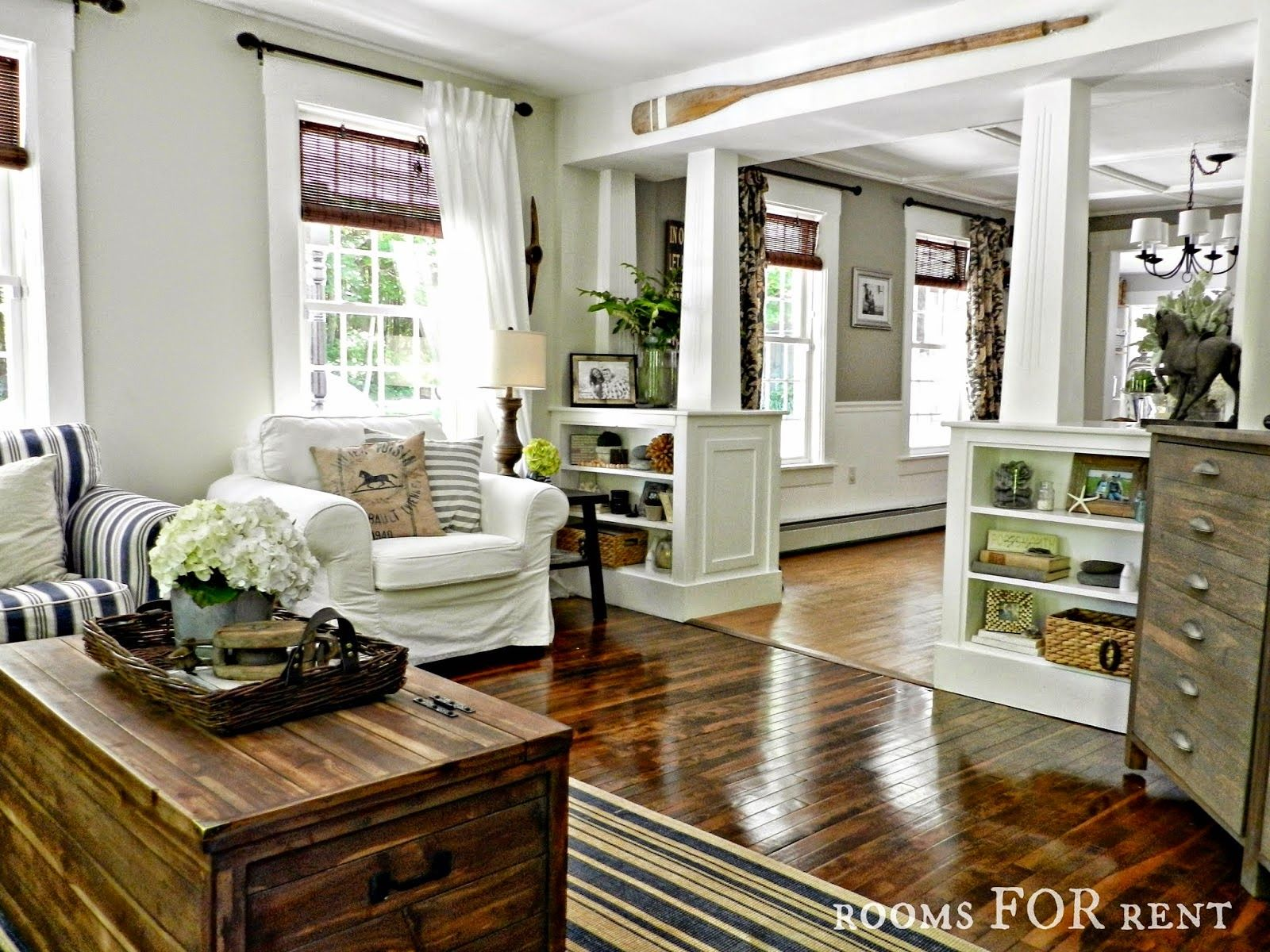 style house-rooms for rent - city farmhouse love the bookcases