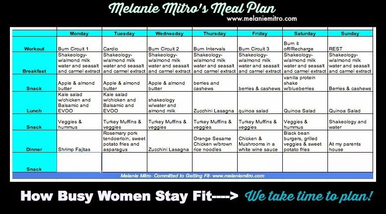 Committed To Get Fit Chalean Extreme Women S Meal Plan And Week 1 Plan Chalean Extreme Meal Plan Chalean Extreme Meal Planning