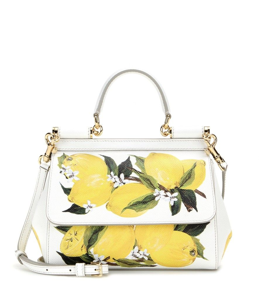 f8a114f26755 Dolce   Gabbana - Mini Miss Sicily printed leather tote - This mini tote  represents the glamour and romance of Dolce   Gabbana.