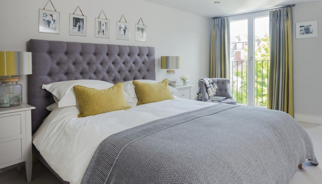 40 Beautiful Bedrooms With Great Ideas To Steal Bedroom Interior Yellow Decor Gray Master