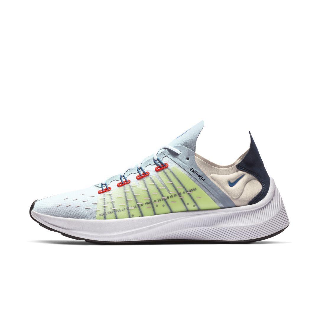 Nike Exp X14 Men S Shoe Size 9 5 Obsidian Mist Shoes Mens