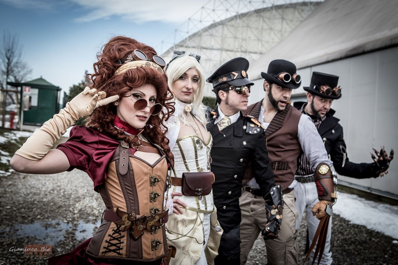 X-men Steampunk Dark Phoenix: Jennifer De Filippi Emma Frost