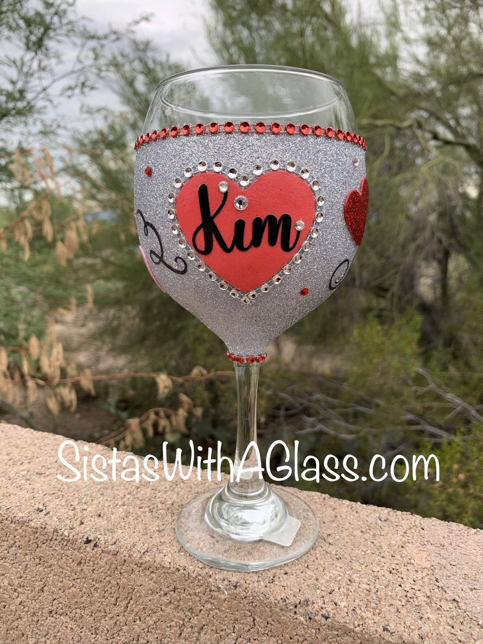 Pin On Wine Glass Paintings