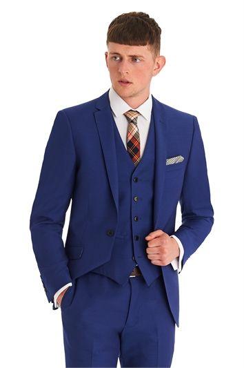 Moss London Slim Fit Bright Blue 3 Piece Suit | Three piece suits ...
