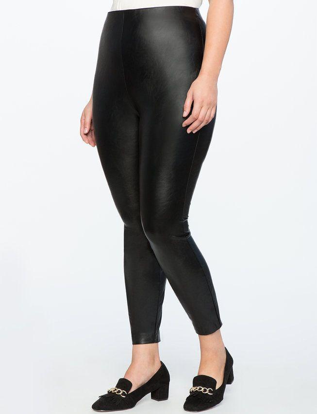 ec6bdcc2d80 View our ELOQUII x Katie Sturino Faux Leather Leggings and shop our  selection of designer women s plus size Pants