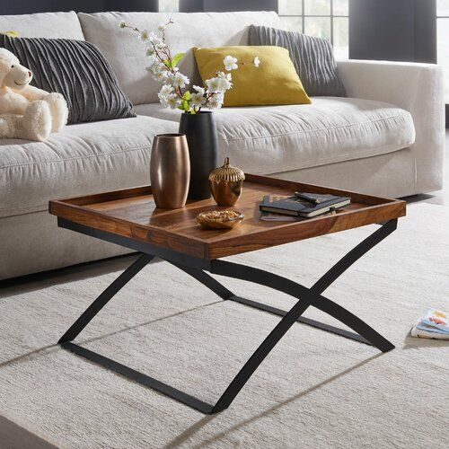 George Oliver Isai Coffee Table Simple Coffee Table Extendable Coffee Table Coffee Table With Storage