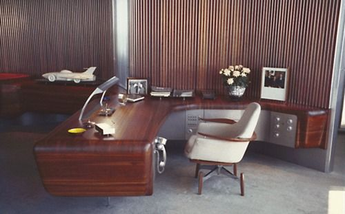 The Original Office Of Harley Earl Vice President Of Design At