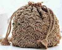 6 Patrones de Bolsos Tejidos al Crochet | Crochet y Dos agujas
