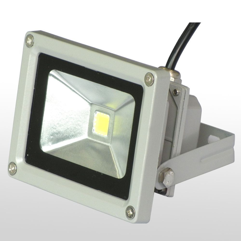 Ip65 Led Flood Light 10w Pure White Outdoor Waterproof Garden House Lamp 85 265v Ledlightseller Led Flood Lights Flood Lights House Lamp