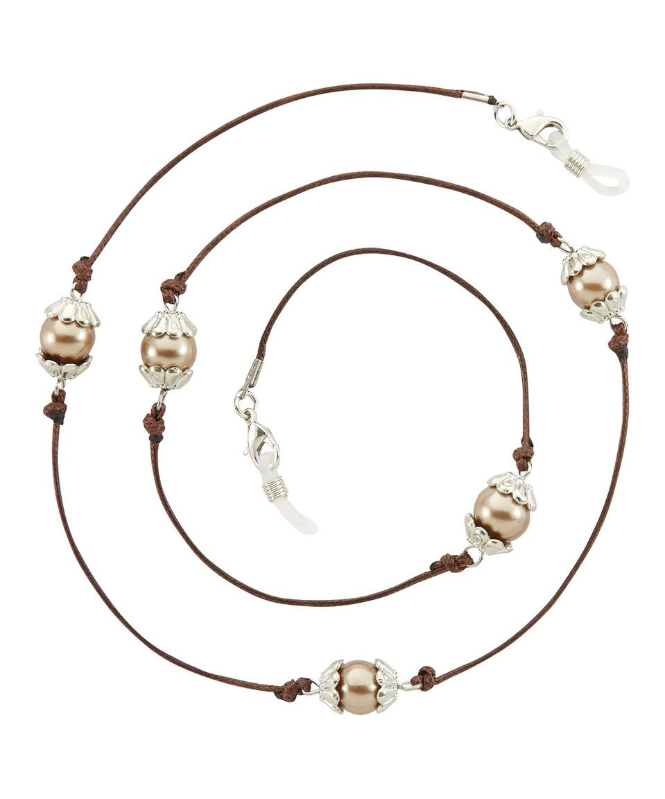 Take a look at this Brown Fawn Eyeglass Chain Necklace today!