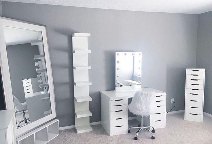 Ideen für Make-up-Räume, um Ihre Morgenroutine aufzuhellen #MakeupRoomVanity #BeautyStor ... - #aufzuhellen #BeautyStor #für #Ideen #Ihre #MakeupRäume #MakeupRoomVanity #Morgenroutine #um #morningroutine