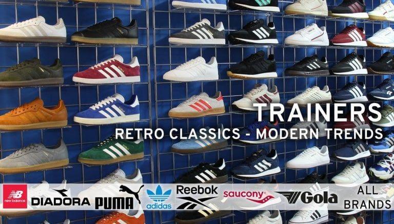 80s Casuals Retro Trainers   Casual