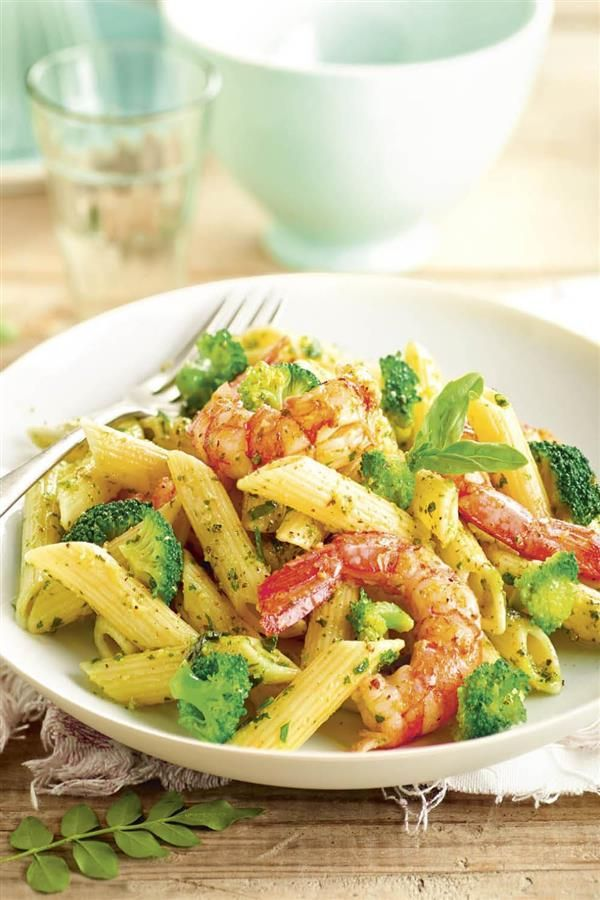 15 Recetas Con Brócoli Para Los No Fans De La Verdura Macarrones Al Pesto Ensalada De Pasta Verduras