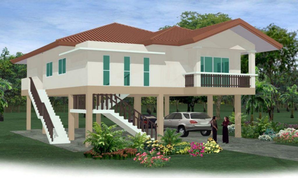 Image Result For Single Level Stilt Homes House On Stilts Stilt House Plans Building A Small House