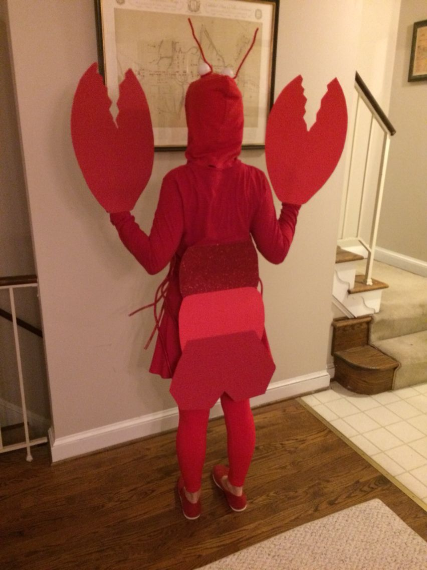 Lobster costume success halloween ideas pinterest lobster lobster costume success solutioingenieria Images