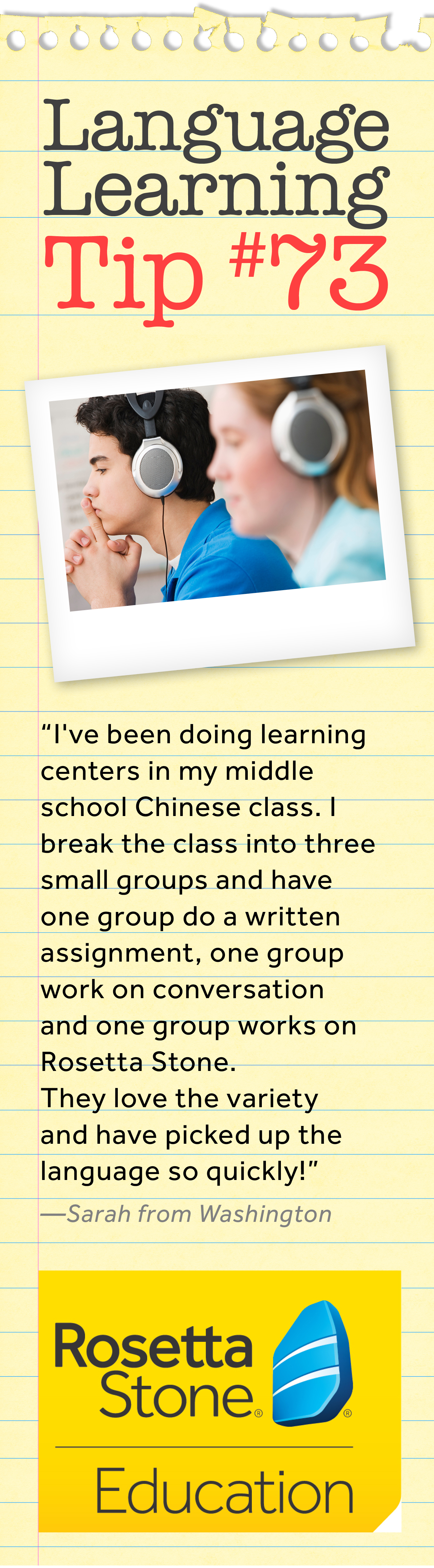 This Teacher Creates Learning Centers In Her Chinese Class