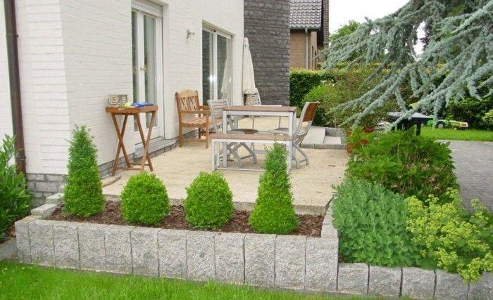 Mit palisaden eine moderne gartengestaltung genie en gartengestaltung garten und - Gartengestaltung boschung gestalten ...