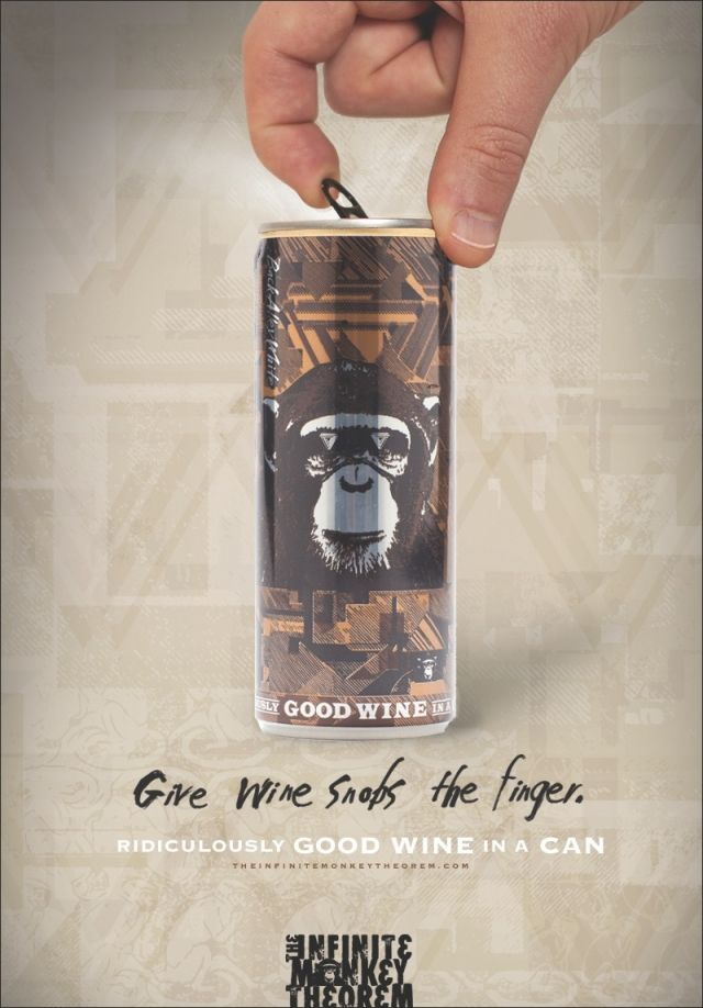 Adeevee - The Infinite Monkey Theorem: Wine opener, Wine snobs, Finger