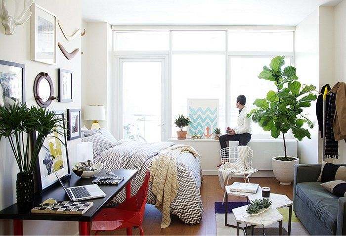 Making The Most Of An Itty Bitty Space With Images Bedroom