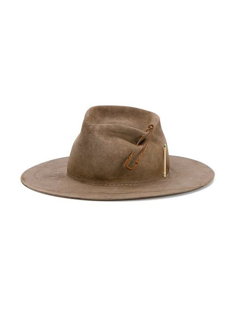 42ed2dda Nick Fouquet safety pin hat | DESIGN INSPIRATION | Hats, Hats for ...