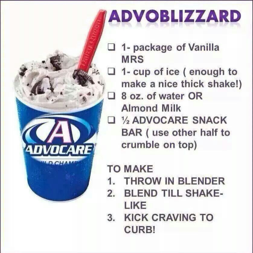 Have a sweet tooth but on your 24 Day challenge?  Your welcome http://www.advocare.com/140623839