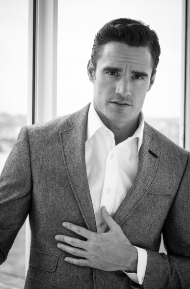 Thom Evans models for the Aston Martin Tailoring Collection by Bespoke HQ