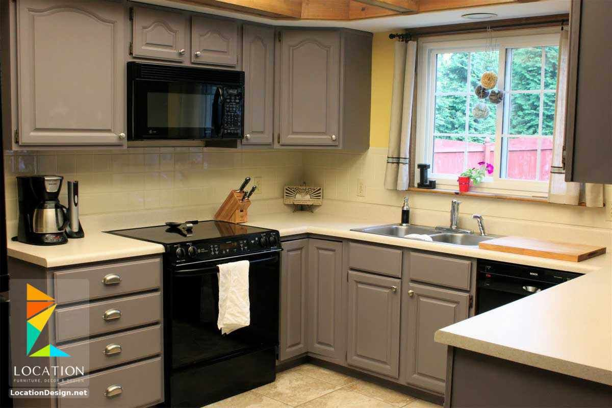 مطابخ خشب صغيرة 2018 2019 لوكشين ديزين نت Repainting Kitchen Cabinets Cheap Kitchen Cabinets Kitchen Cabinet Design