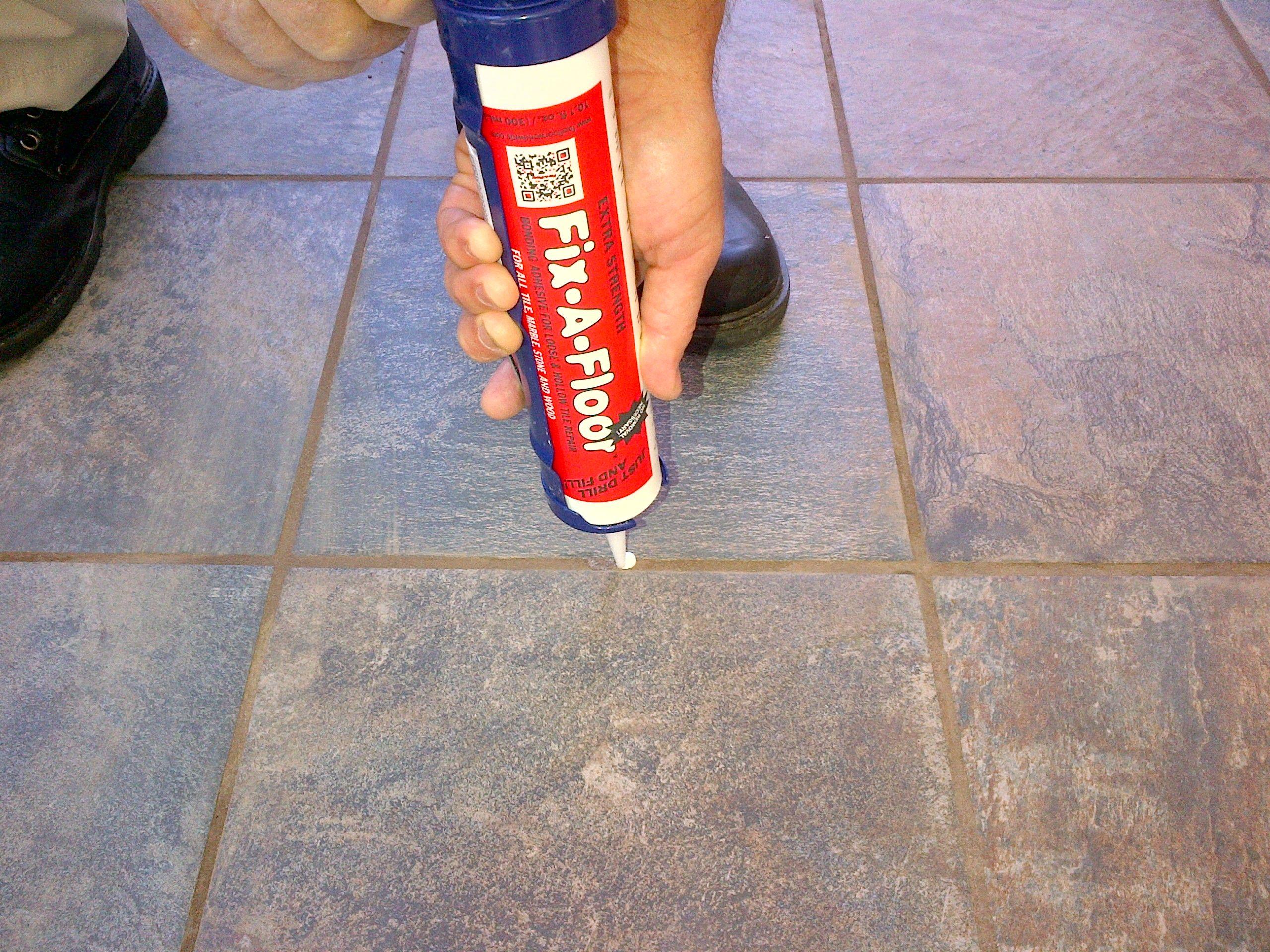 FIXAFLOOR Got Loose/Hollow Tiles? #DIY #contractors Save