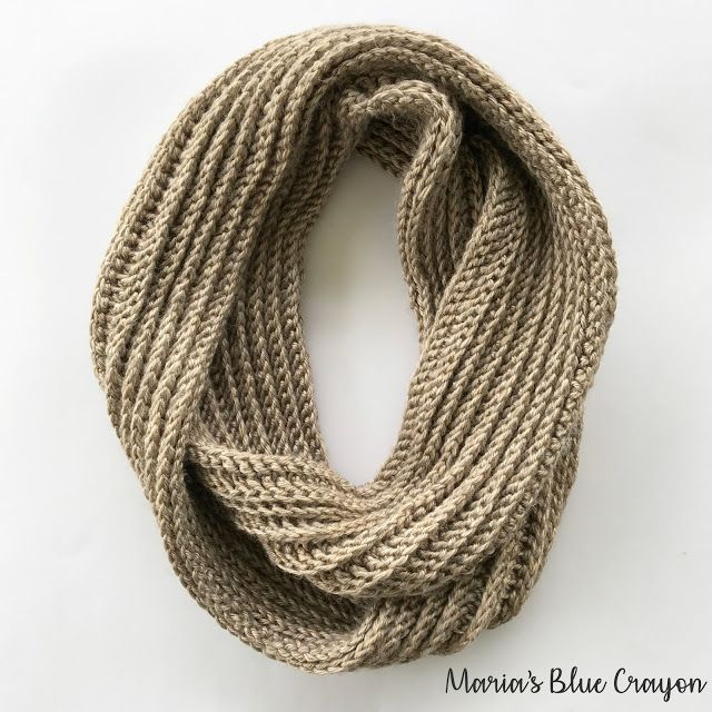 Aspen Infinity Scarf Crochet Pattern | Hats and Scarves | Pinterest ...
