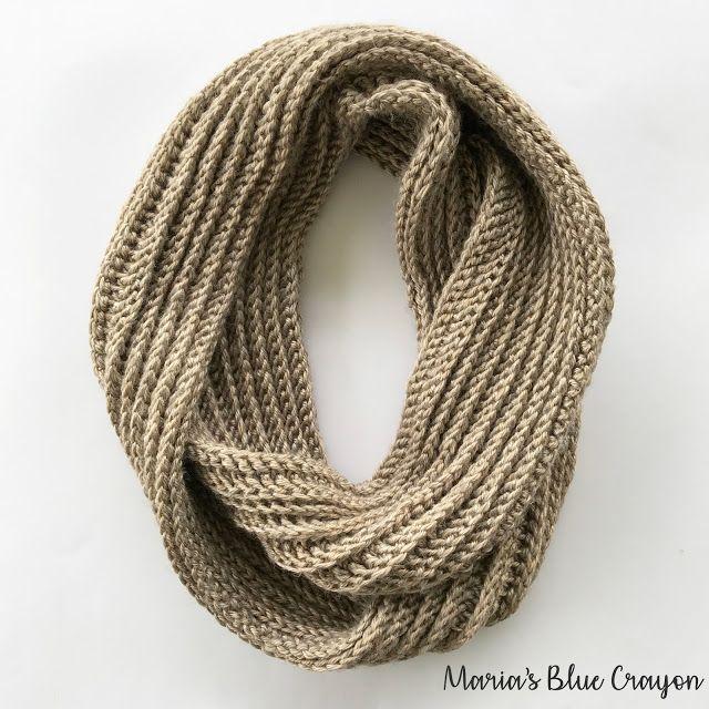 Aspen Infinity Scarf Crochet Pattern | Crochet | Pinterest | Dos agujas