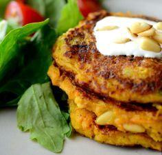 pacakes salados de zanahoria-receta en español