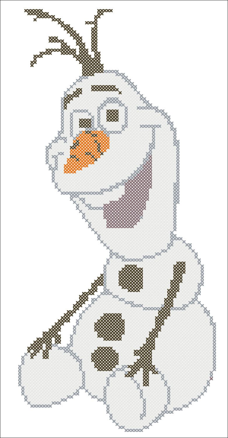 Bogo Free Olaf Frozen Cross Stitch Pdf Door
