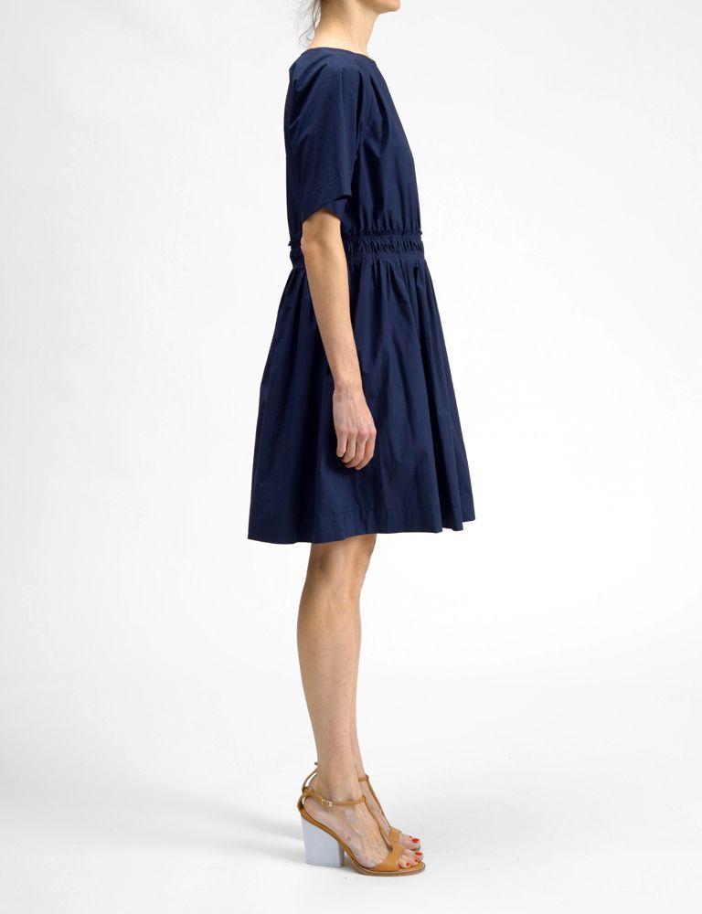 Apiece Apart dira shirred day dress at Bird : ShopBird.com