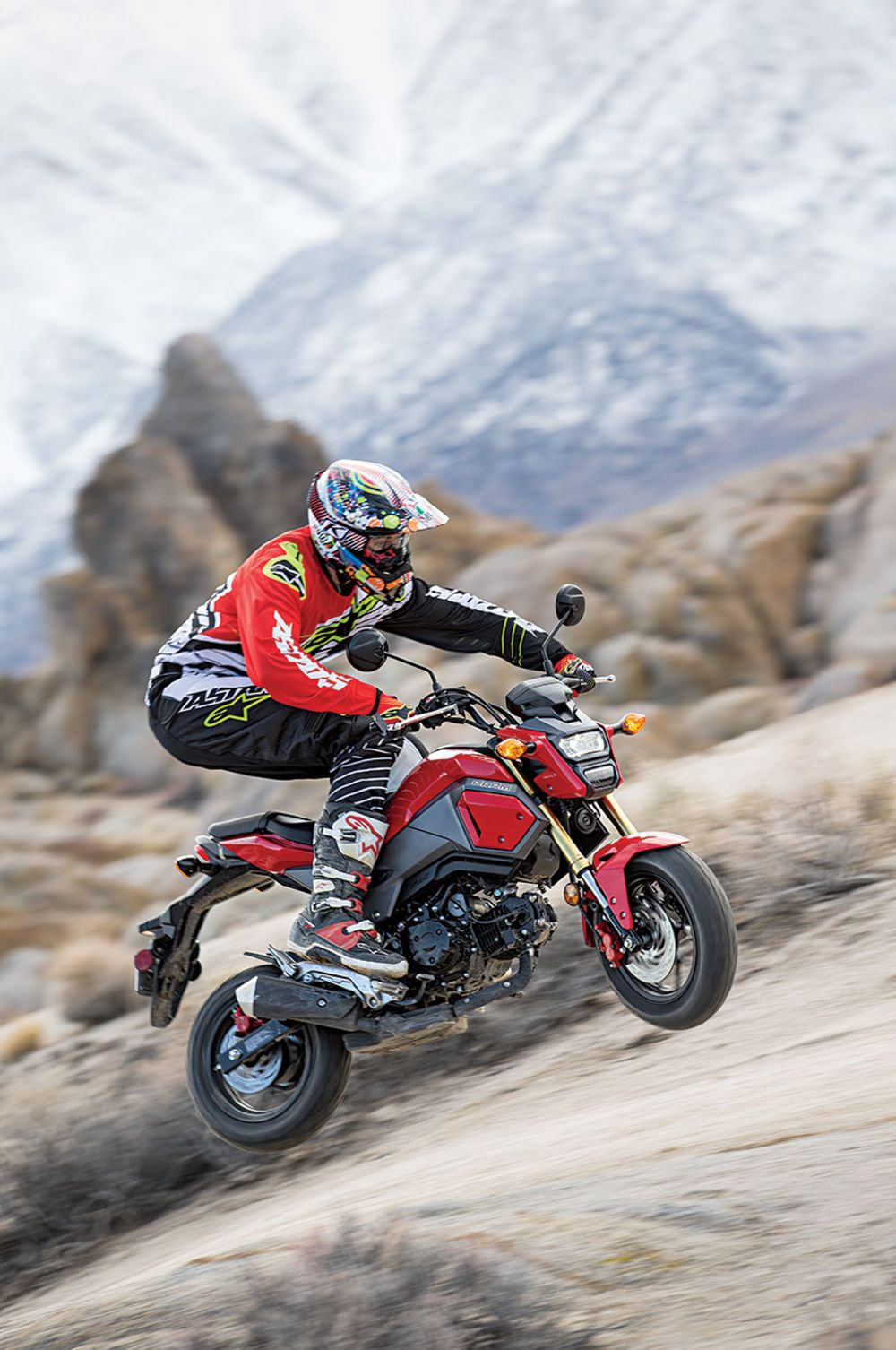 Honda Grom off-road dirt action   Moto - All - Sorts ...