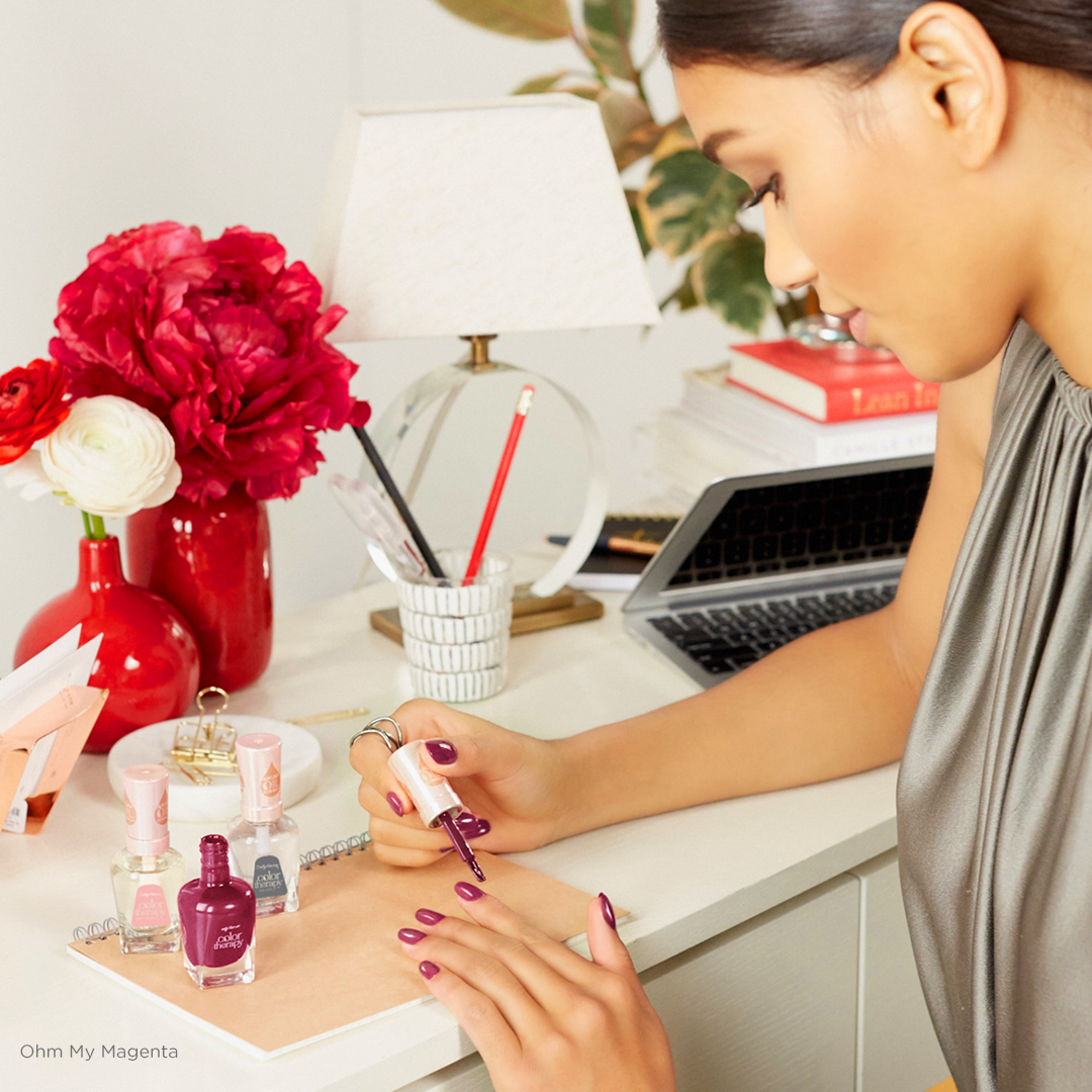 Colour therapy for beauty - Color Therapy The Rich Tones Ohm My Magenta