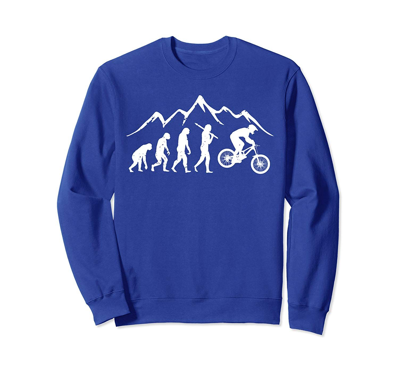 Evolution Downhill Mountain Bike MTB Mountain Biking Gift Sweatshirt
