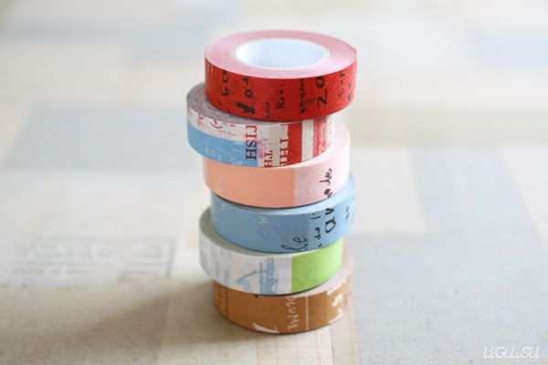 CRAFT log Graffiti Masking Tapes  http://uguisu.ocnk.net/product-group/36